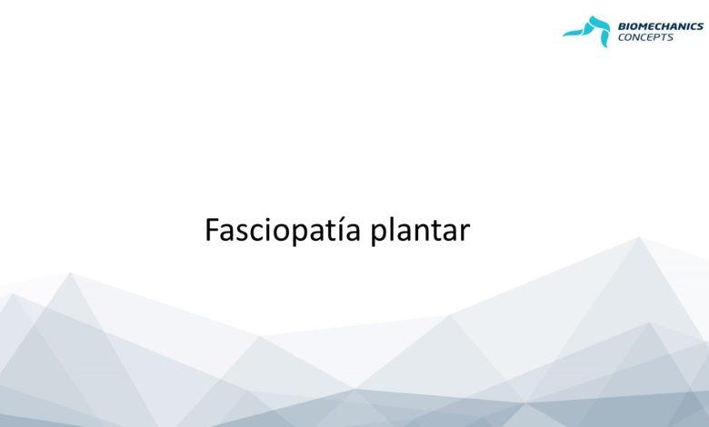 Photo of Abordaje terapéutico de la fasciopatía plantar